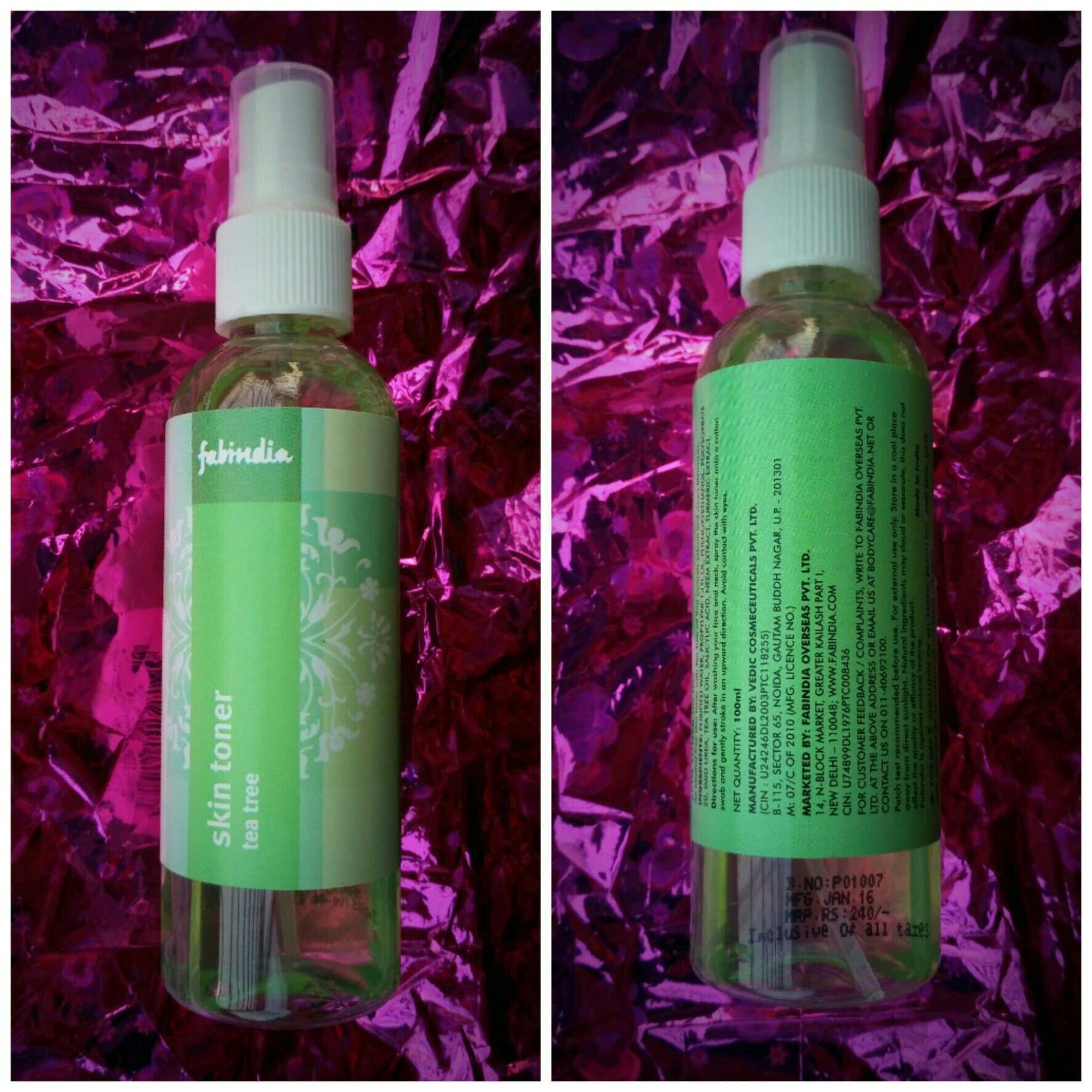 Fabindia Skin Toner Tea Tree