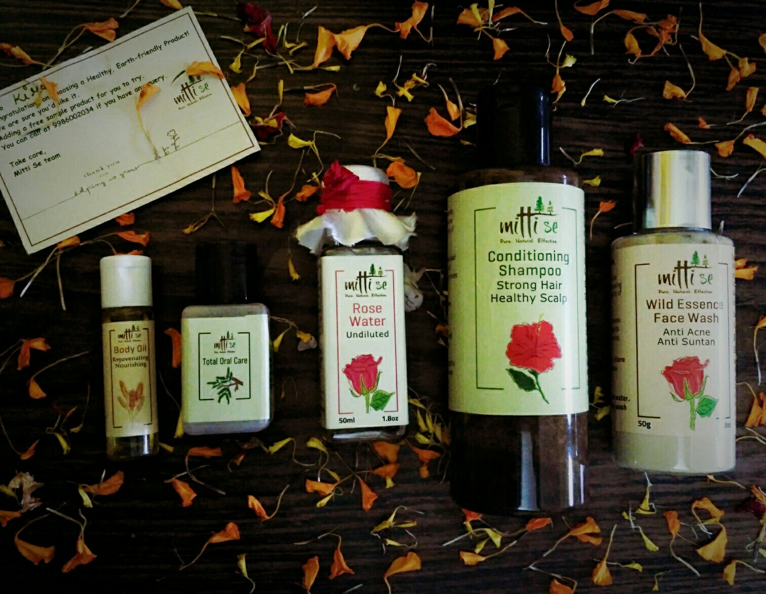 Skincare Haul From Mitti Se
