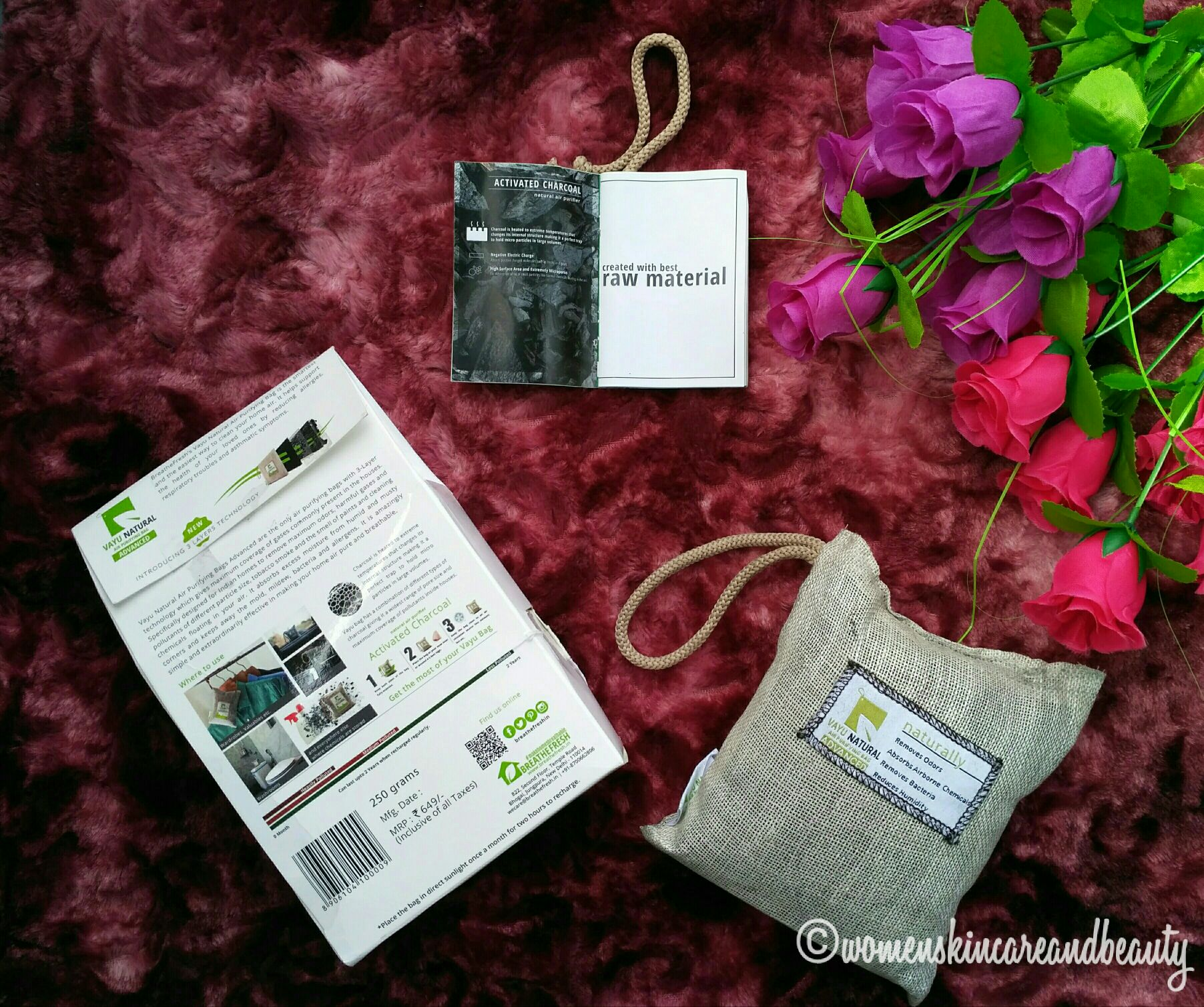 Fighting Indoor Air Pollution With Vayu Natural Air Purifying Bag!
