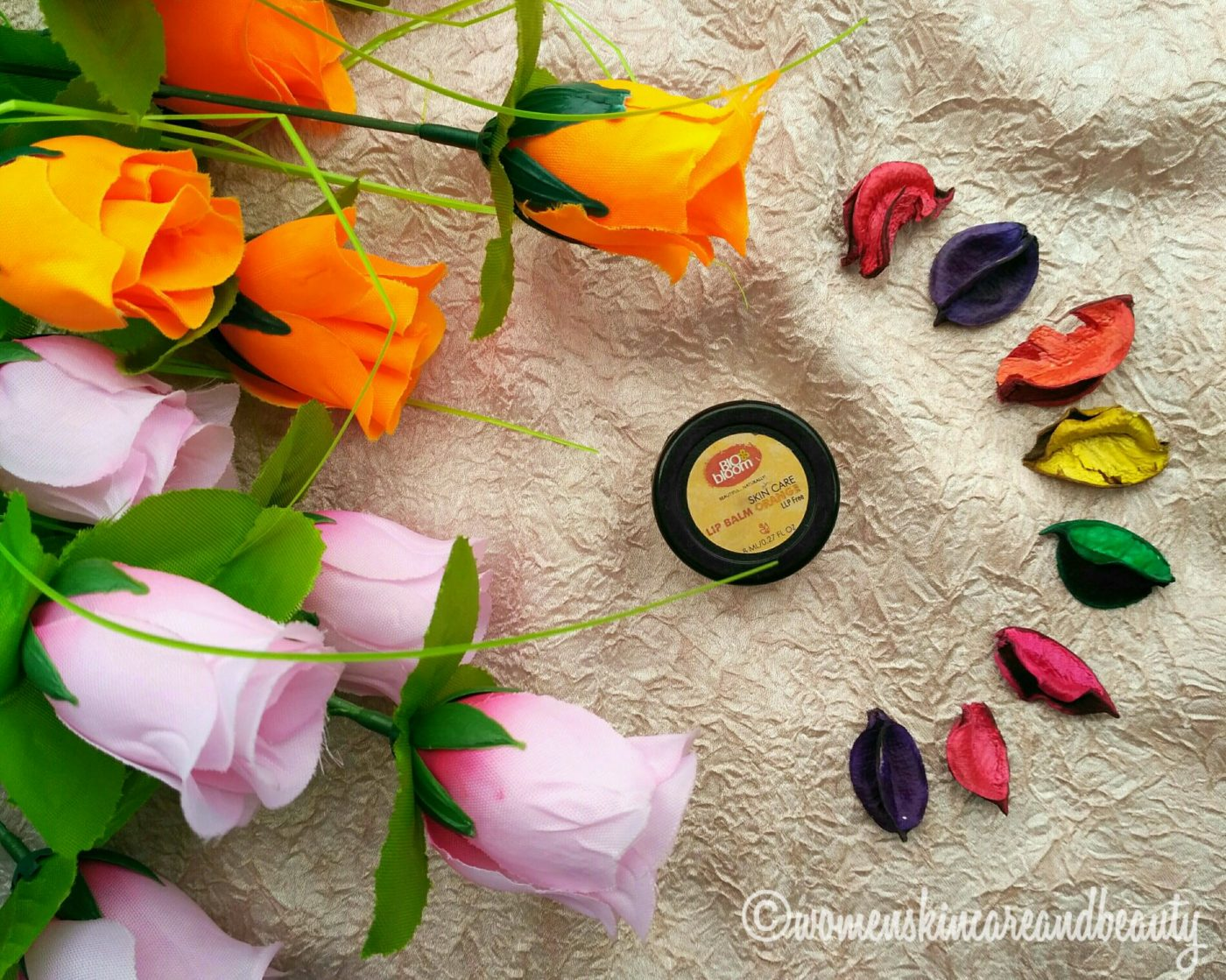 Bio Bloom Orange Lip Balm