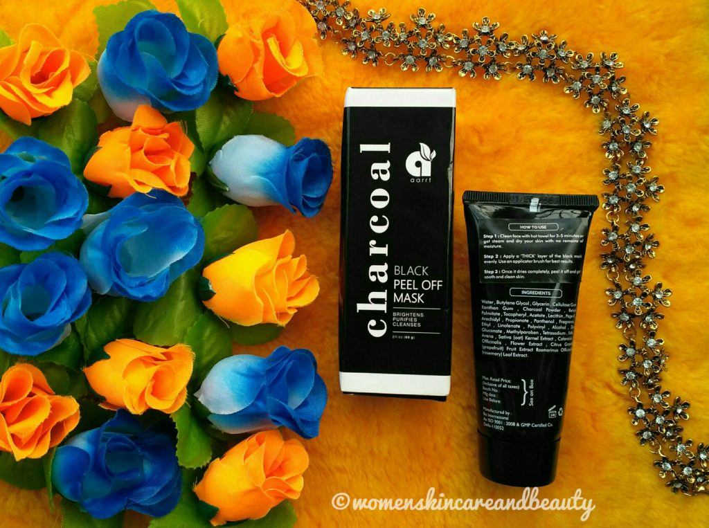 Aarrt Charcoal Black Peel Off Mask