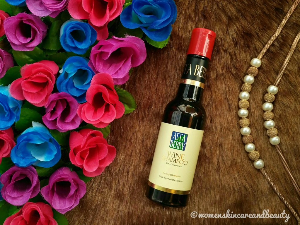 Asta Berry Wine Shampoo