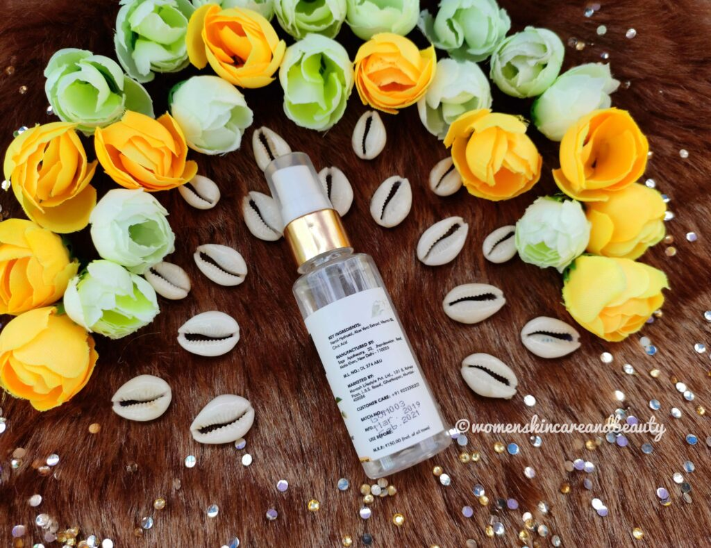 Good Vibes Neroli Revitalizing Face Mist