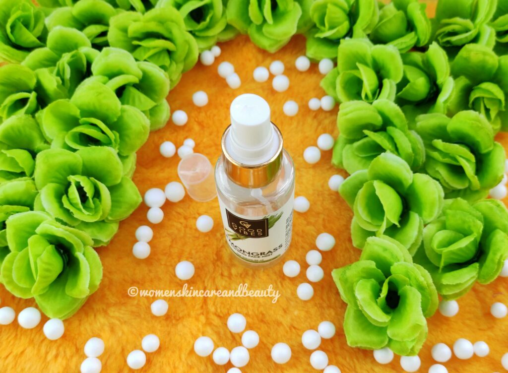 Good Vibes Lemongrass Toning Face Mist
