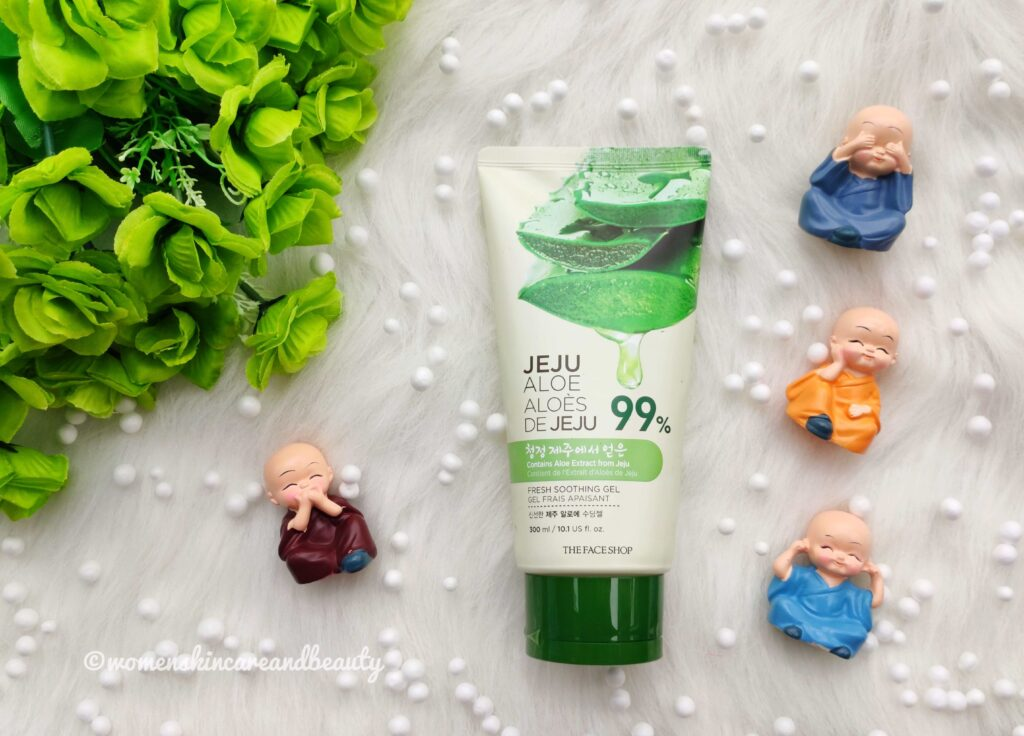 The Face Shop Jeju Aloe Fresh Soothing Gel