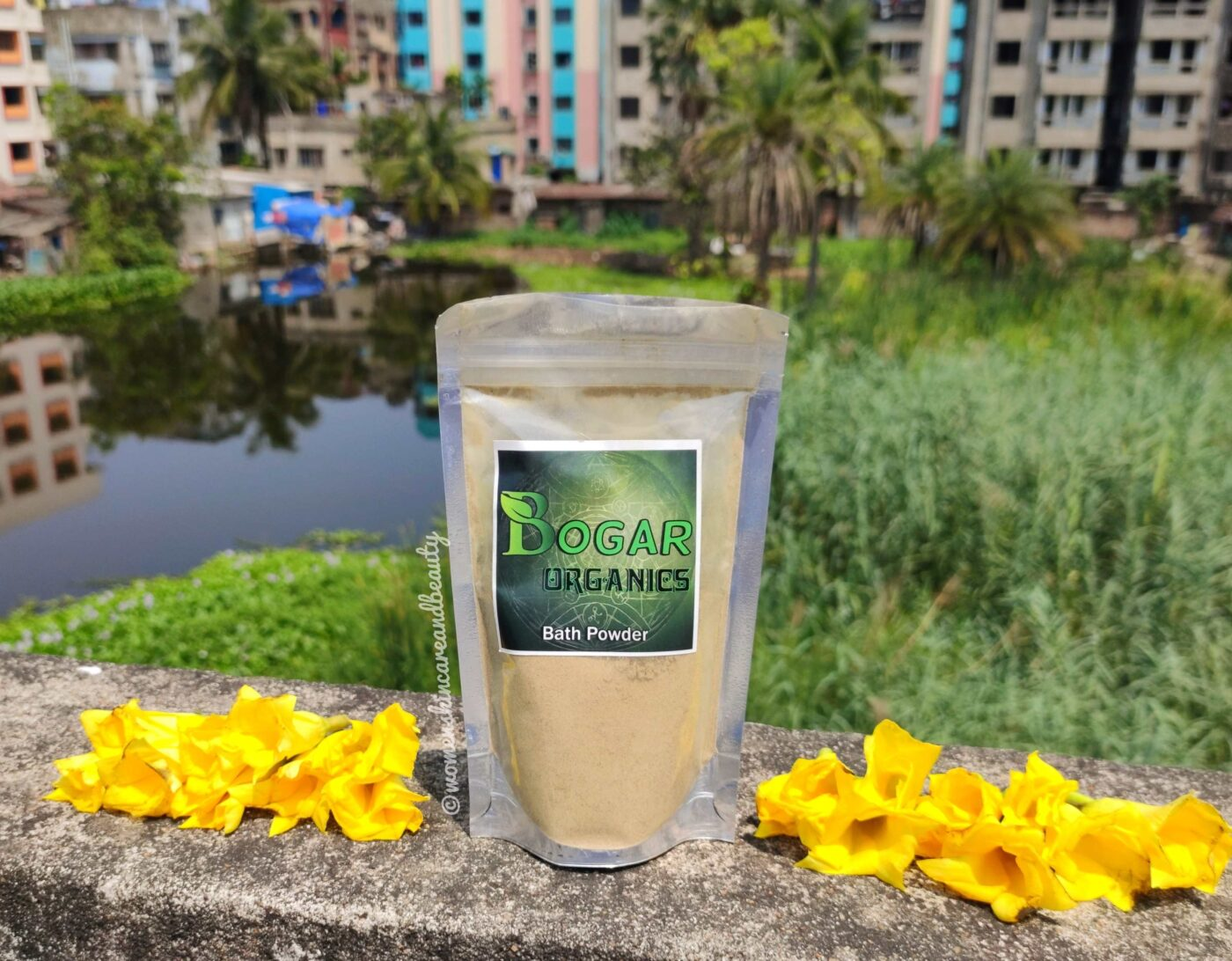 Bogar Organics Bath Powder