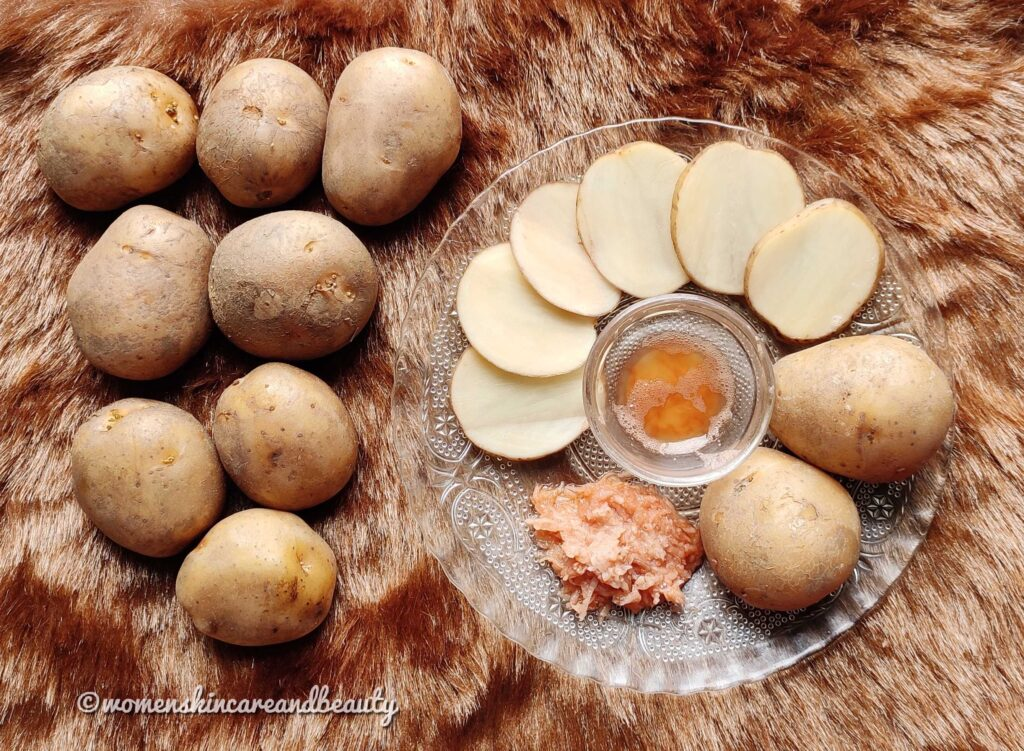 Beauty Benefits of Potato